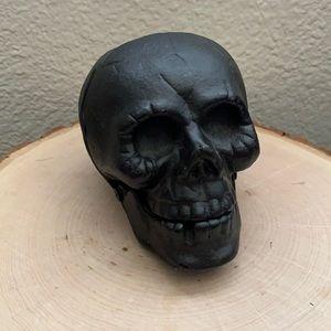 Ashland Iron Skeleton Head Halloween Decor